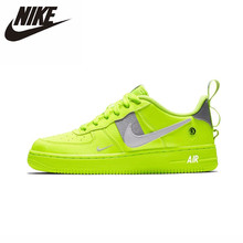 цена на Nike Air Force 1 Lv8 Utility(gs) Original New Arrival Men Running Shoes Comfortable Sneakers #AR1708/AJ7747