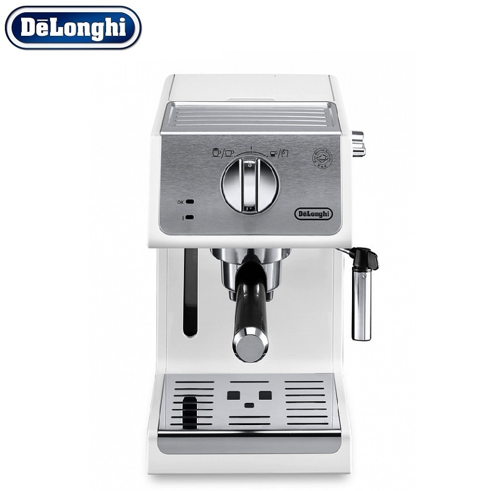 Coffee Maker DeLonghi ECP 33.21 W kitchen automatic pump Coffee machine espresso Coffee Machines Coffee maker Electric coffee maker delonghi eci 341 kitchen automatic pump coffee machine espresso coffee machines coffee maker electric