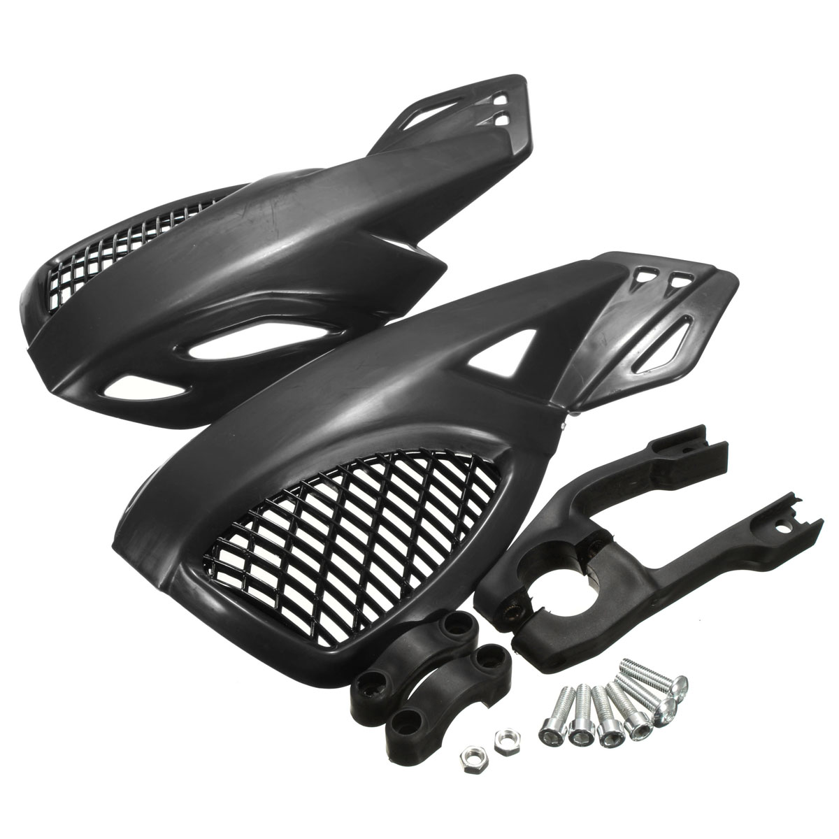1 Pair Motorcycles Motocross Brush Bar Hand Guards Handguard For Honda /Yamaha /Suzuki /KTM ATV Dirt Bikes