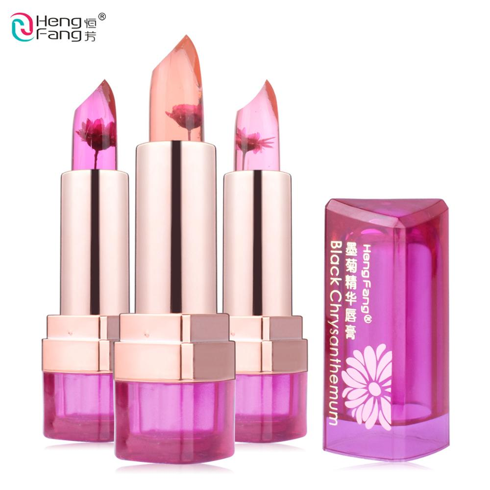 3 Fruit Flavors Black Chrysanthemum Lipstick