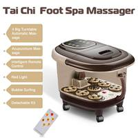 Acupuncture Electric Foot massage Barrel Roller Sterilization Foot Spa Bath Therapy Heat Soak Vibration Deep Bucket Soak Feet