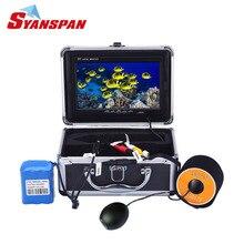 """SYANSPAN инфракрасный Подводное рыбопоисковое устройство видео камера для Рыбалка """" TFT ЖК дисплей Мониторы, IP68 HD 1000TVL Ночь Версия"""