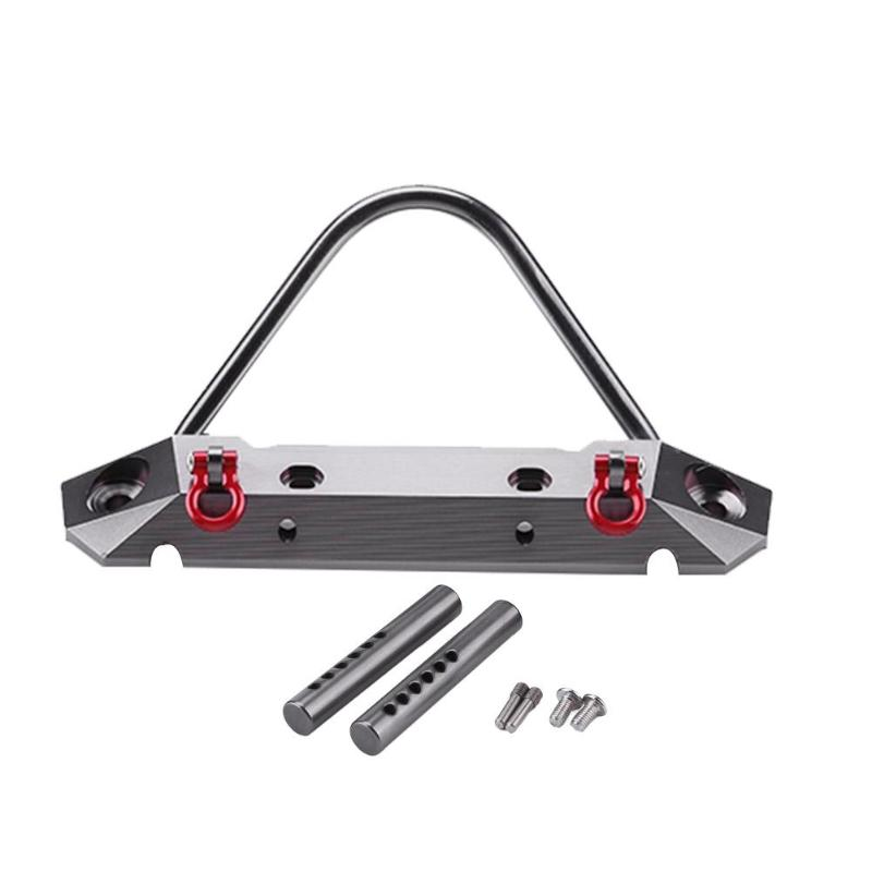 Amortecedor Dianteiro de Metal Adequado para 1:10 Modelo RC Rock Crawler Axial Scx10 Acessórios Do Carro RC Brinquedos para Crianças e Adultos