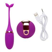 Vagina Balls USB Charging Wireless Remote Vibrator Clitoris Massager Sex Toys For Woman Sex Toys Jump