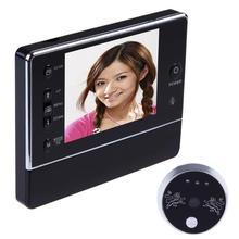 """3,"""" Беспроводной ЖК цифровой 120 градусов дверной звонок глазок интерфон зритель камера DVR ночное видение 3 X Зум ЖК-дисплей Дверной Звонок"""