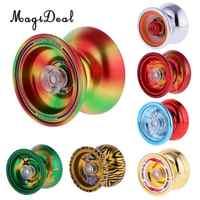 MagiDeal 1 pc Professional YoYo Liga de Alumínio Bola de Cordas Truque Iô-Iô KK Rolamento para Iniciante Adulto Crianças Clássico brinquedo 7 Tipos