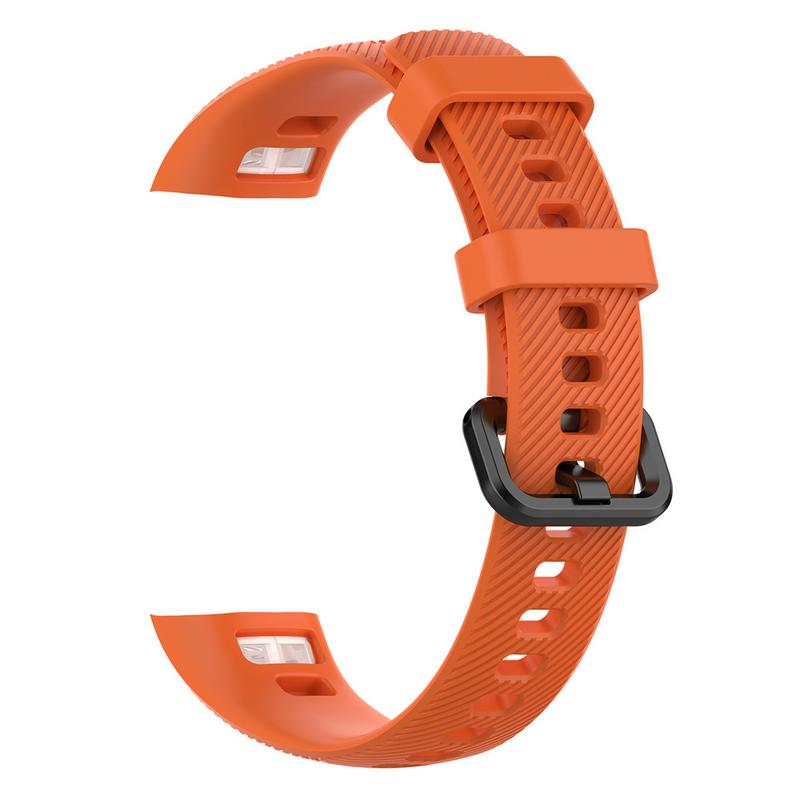 Image 3 - Silicone Soft Straps Replacement Sport Smart Watches Band Rubber Breathable Smooth Wristband Bracelet For Huawei Glory 4-in Smart Accessories from Consumer Electronics