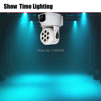 Disco led moving head dj light  RGBW 4 IN 1 led Stage effect use for DJ Bar Club Disco Home entertain Wash background 2pcs lot 4 in 1 led bar 7 10w moving head light rgbw 7 leds disco wash nightclub rainbow effect projector for wedding show