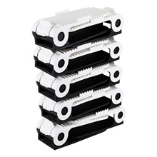 Promotion! 10x Adjustable Shoe Slots Organiser Space Saver Free Storage Stacker Holder