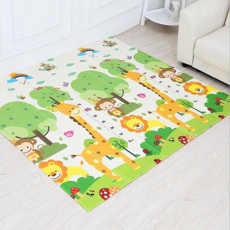 10 MM d'épaisseur XPE tapis rampant bébé tapis de jeu tapis girafe tapis de sport tapis de développement tapis pour enfants jouets sol doux