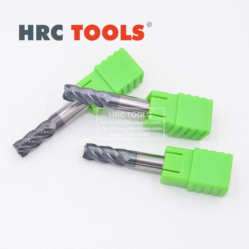 J18 d8x50Hx8Dx150L Nano Coated Tungsten Steel Flat Endmill Drill Sets hrc62|Milling Cutter| |  - title=