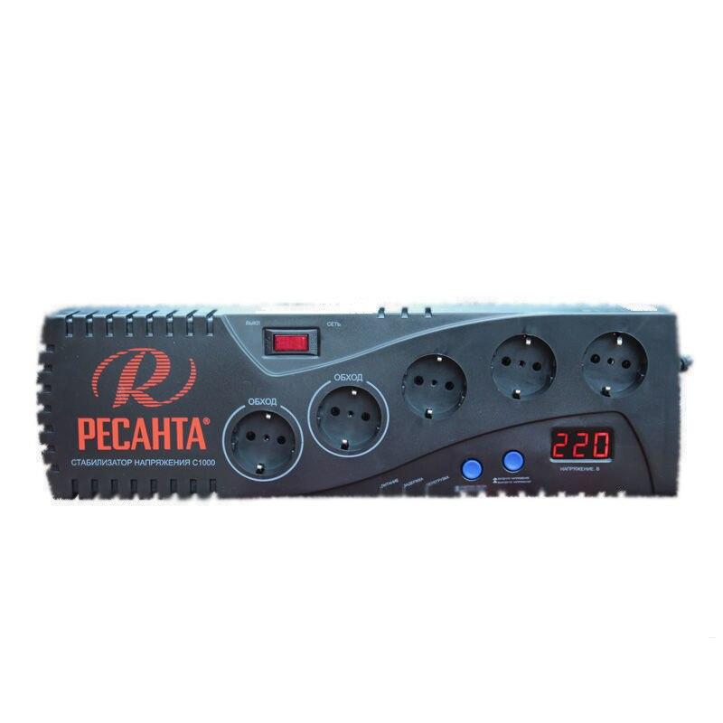 цены Voltage regulator RESANTA C-1000