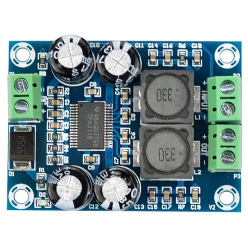 XH-M311 Mini Digital Amplifier Board TPA3118 Audio Amplifier Board Audio Power Amplifier Module Mono 60W