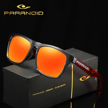 PARANOID Vintage TR90 Sunglasses Polarized Men's Sun Glasses