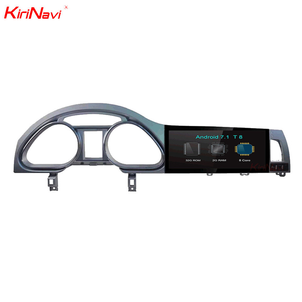 KiriNavi 10.25 Octa base Android 7.1 Autoradio Pour Audi Q7 Multimédia GPS Navigation DVD Lecteur Bluetooth MP3 WIFI 2005-2015