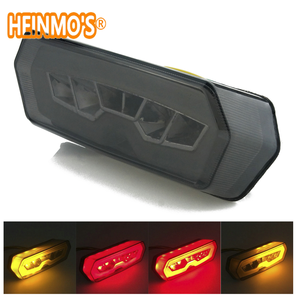 LED Taillight Rear Tail Turn Signal Brake Lamp Light Stop Signals Motorcycle For CBR650F CTX700 CTX700N MSX125 MXS 125
