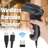 NT 1900 2.4G Barcode Scanner wireless barcode reader 1D scanner Wireless Long Range Cordless Bar Code Reader