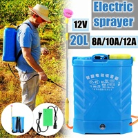 20L 8/10/12/14/16A Lithium Battery Electric sprayer Agricultural Pesticide High pressure charge dispenser Garden equipment