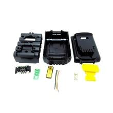 Полный-для Dewalt 18 в 20 в Замена батареи пластиковый чехол 3.0Ah 4.0Ah DCB201, DCB203, DCB204, DCB200 литий-ионный аккумулятор крышка части
