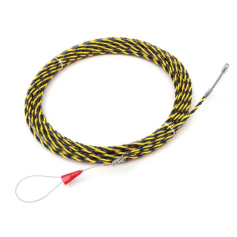 6mm 5 mètres à 50 mètres câble extracteur Guide dispositif Fiber de verre nylon câble électrique poussoirs bande fil filetage outil d'aide