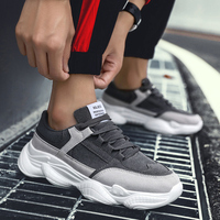 Men's Winter Shoes Trainers Chunky Sneaker Dad Shoes Men Sneakers Mesh Footwear High Platform White Sneakers Men Vulcanize Shoe