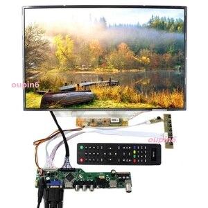 Image 3 - TV HDMI AV VGA USB TV56 LCD LED sürücü Kontrol kurulu kiti Kart DIY LTN160AT01 Için 1366X768 Paneli ekran