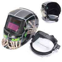 New Solar Auto Darkening Welding Helmet Arc Tig Mig Mask Grinding Welding Mask Adjustable Solar Welding Helmet