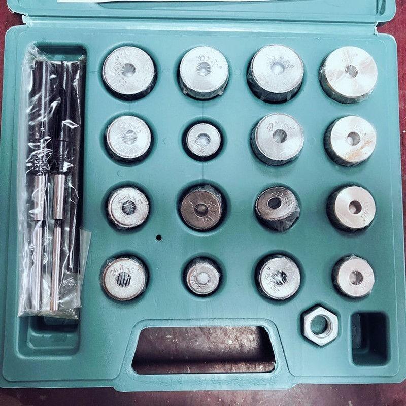 Ensemble d'outils de soupape de coupe de réparation de moto alésoir de siège de soupape pour Honda Suzuki - 6