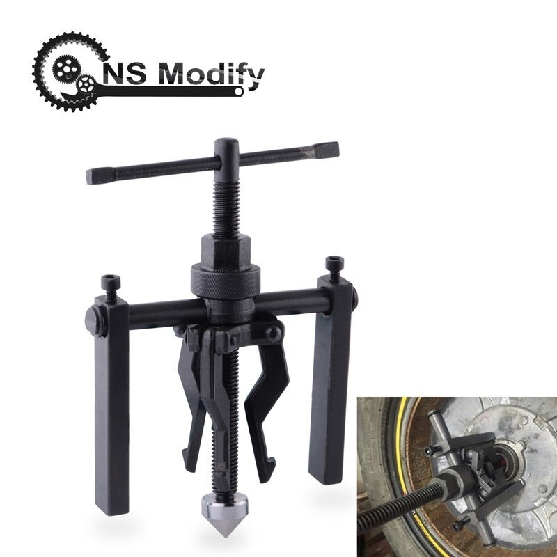 NS Modify 3-Jaw Inner Bearing Puller Gear Extractor Heavy Duty Automotive Machine Tool Kit Car Diagnostic Tools