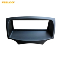 FEELDO Car Stereo Radio Fascia Frame For FORD Ka 2008 2016 Audio 1DIN Dash Plate Panel Frame Installation Trim Kit