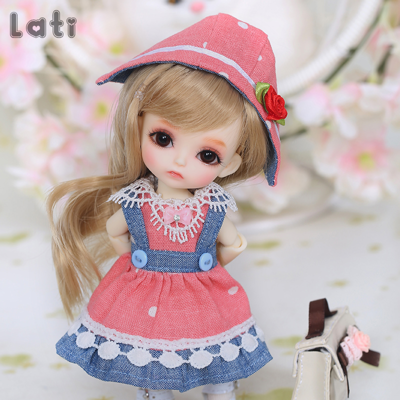Free Shipping BJD Dolls Lati Yellow Sunny Lea Lami Kuro Coco 1/8 Lovely Flexible Wig Clothes Shoe Eye  Pukifee Oueneifs  Luodoll