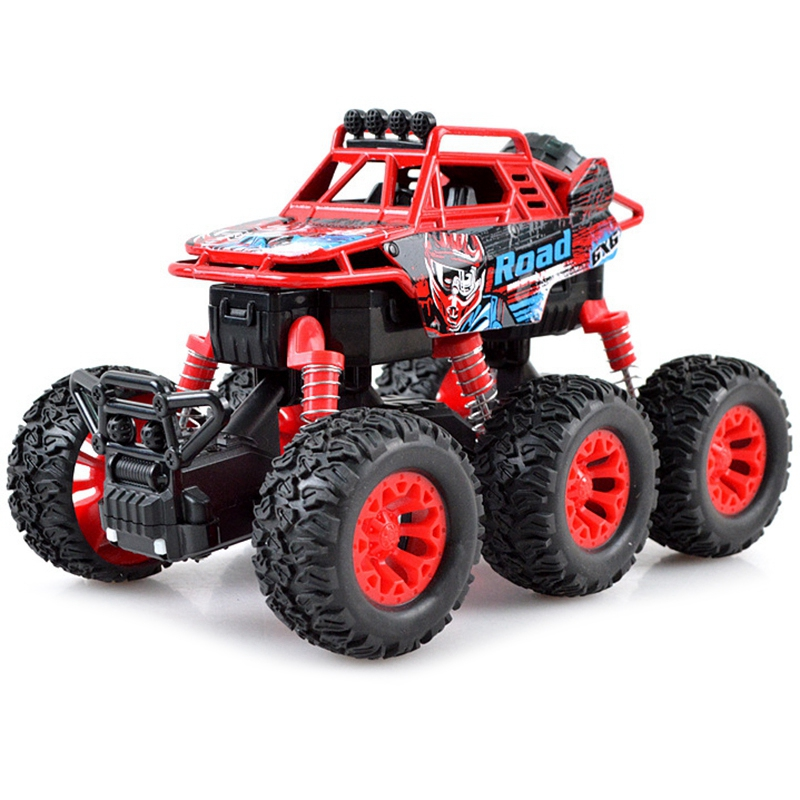 De seis ruedas Backswing juguete coche de cuatro ruedas de aleación Cruz país escalada coche de juguete Para Mitsubishi Outlander 2013 2015 2016 2017 2018 Exterior modificado especial 3D 4WD letras pegatinas de cuatro ruedas