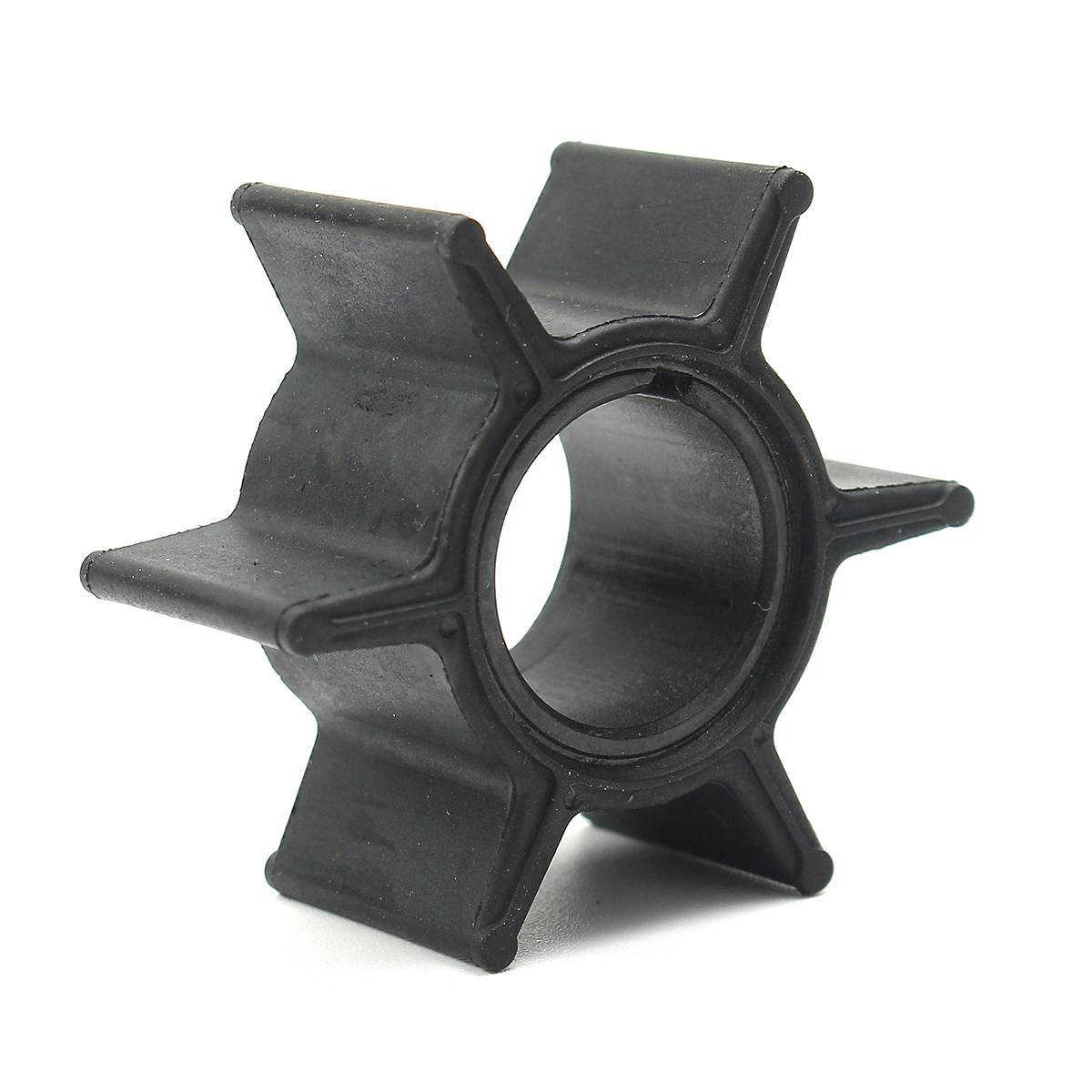 Water Pump Impeller For Tohatsu &Mercury 25/30/40HP Outboard Motor 345-65021-0 / 18-8923 Black Rubber 6 Blades Boat Parts