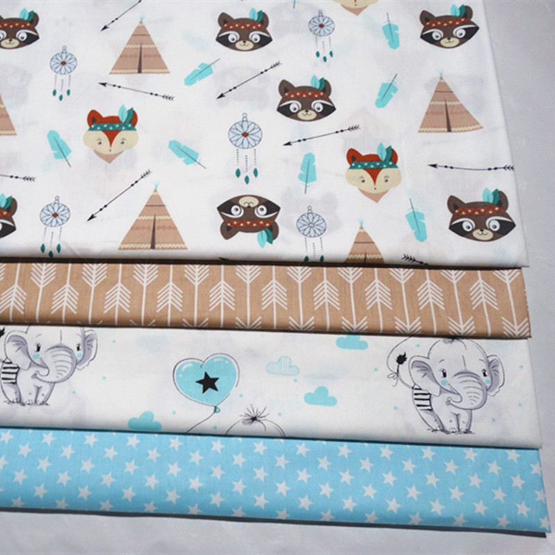 Hello Kitty Teacup Toss Bows Teal Blue Cat Cotton Flannel Fabric Print D278.17