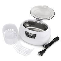 600ml Ultrasonic Cleaner 50W AC220 240V Cleaning Machine for Jewelry Glasses Intelligent Ultrasonic Cleaner Bath