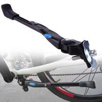Bicicleta quente kickstand estacionamento cremalheiras suporte lateral pé cinta mtb estrada mountain bike bicicletas suporte para 16/24/26 polegada