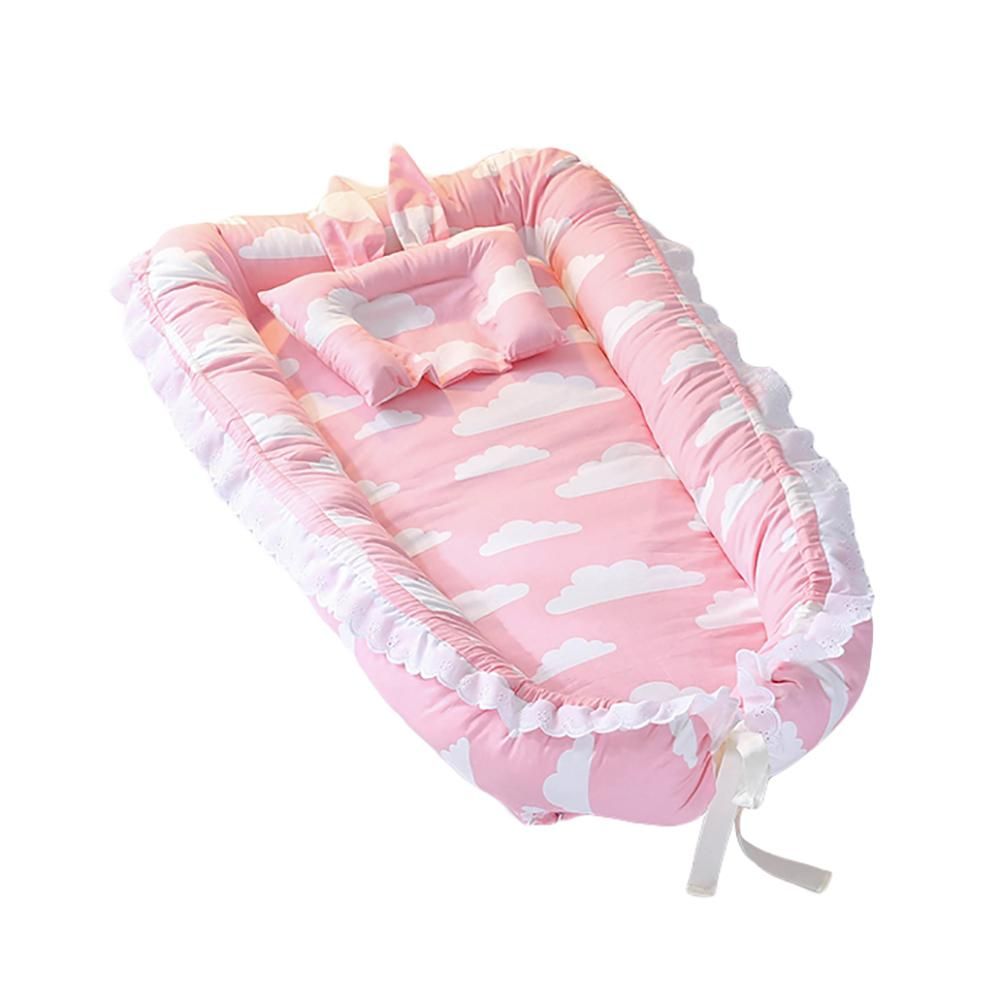 Kidlove Baby Detachable Mattress Baby Nest Newborn Babynest Sleep Bed