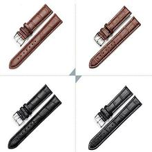 Watch Band Men Women  Bracelet Belt Leather Adjustable Watch Band Strap 18mm 20mm 22mm watch accessories Wristband Watchband rubber watch strap waterproof silicone wristband bracelet watchband wristwatches band 20mm belt fold buckle watch accessories