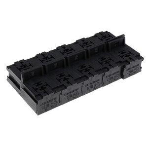 Image 5 - 20 חתיכות רכב 5 פין ממסר Socket מחזיקי עם 6.3mm נחושת מסופים