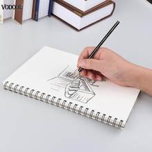 A4 32 Sheets Sketch Book Sketchbook Painting Paper Drawing Graffiti Blank Paper Paint Kits Stationery Art Office School Supplies(China)