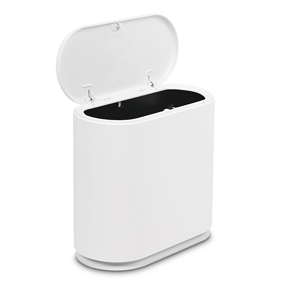 Pressing Type Plastic Trash Can Garbage Bin Waste Rubbish Dustbin For Home Trash Can Waste Bins Household Cleaning|Waste Bins| |  - title=