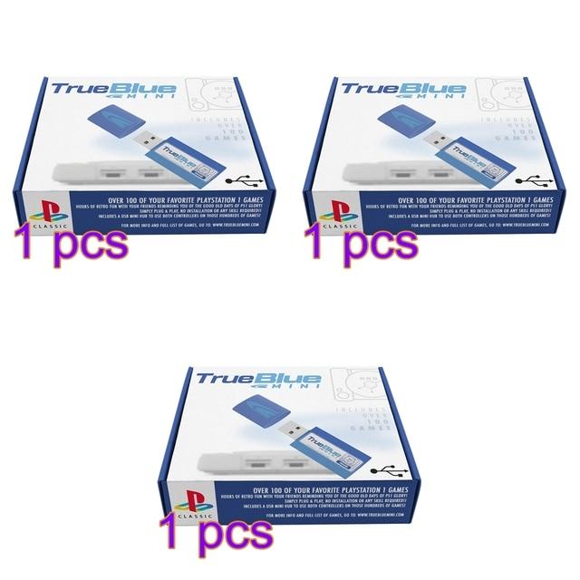 HOBBYINRC 64G True Blue Mini Crackhead Pack 101 Spiele + 64G Meth Pack 101 Spiele + 32G kampf Pack 58 Spiele für PlayStation Klassische