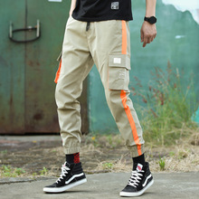 #3426 Pants Male Korean Trend Spring Cargo Upon Sports