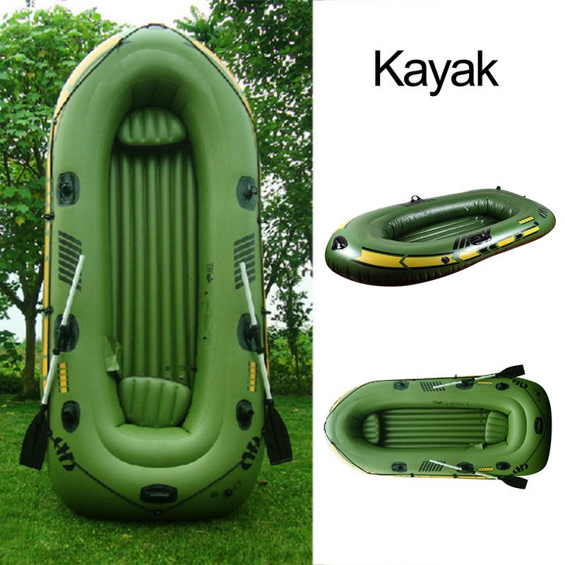 1/2 Person Inflatable Kayak Set Inflatable Kayak Canoe Kayak Pro Drifting Inflatable Boat with Oars and High Output Air Pump1/2 Person Inflatable Kayak Set Inflatable Kayak Canoe Kayak Pro Drifting Inflatable Boat with Oars and High Output Air Pump