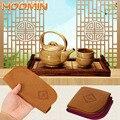 HOOMIN чайное полотенце Tablemat Teaware приспособления кухонные аксессуары льняные Столовые Салфетки
