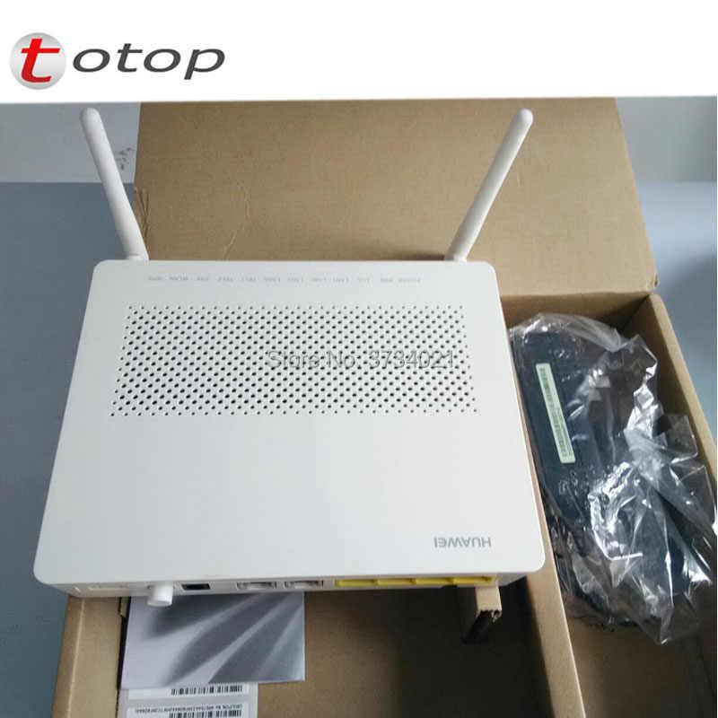 free shipping Huawei echolife hg8245h gpon ont onu 4GE+PORT+VOICE+