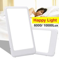 10000 LUX 12W SAD Phototherapy Light Bionic Daylight Affective Disorder 78Pc LED Lamp US/EU Plug Relief Listless Fatigued Adjust