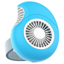 HOT Outdoor Portable Handheld Radiator Fan Cartoon Conch Mini Adjustable Usb Charging Wrist Cooling