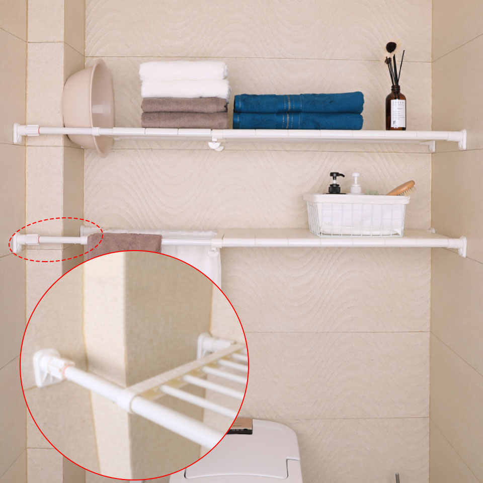 Adjustable Shelf Adjustable Closet Organizer Storage Shelf Wall Mounted Kitchen Storage Holders Racks Wardrobe Shelves Dividers