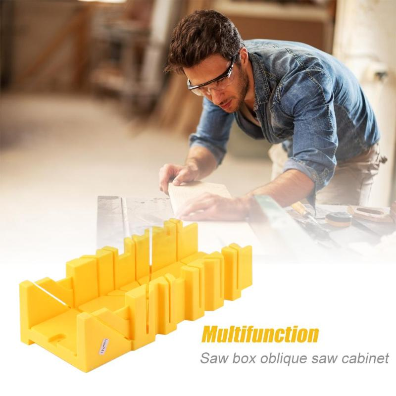 Multi-function Miter Saw Box 45/90 Degree Saw Box Cabinet Case Woodworking Angle Cutting Plastics saw boxMulti-function Miter Saw Box 45/90 Degree Saw Box Cabinet Case Woodworking Angle Cutting Plastics saw box